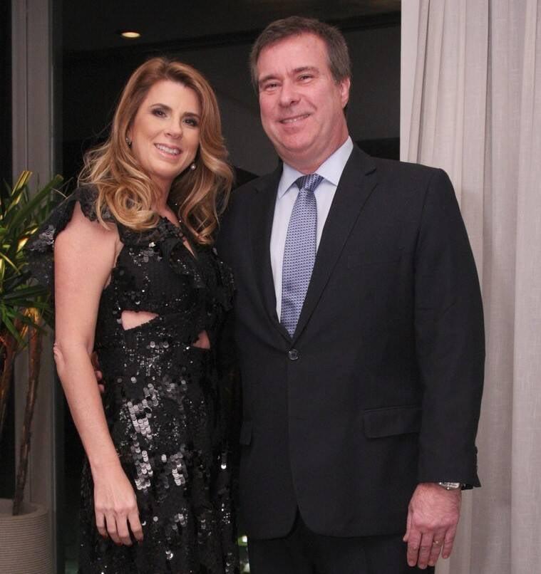 Danielle e Gustavo Brigagão  /Foto: Vera Donato