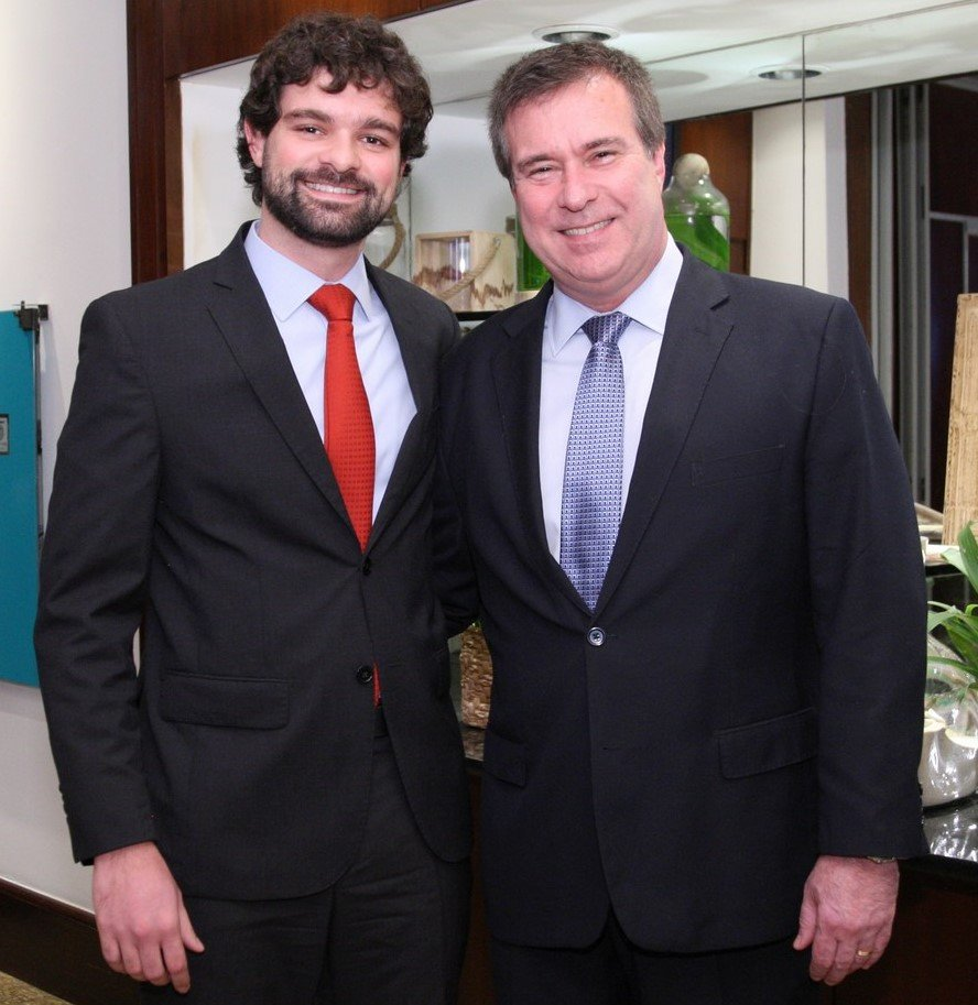 Pedro e Gustavo Brigagão  /Foto: Vera Donato