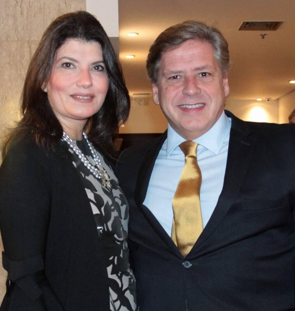 Anamaria Moura e Marcelo Moura  /Foto: Vera Donato