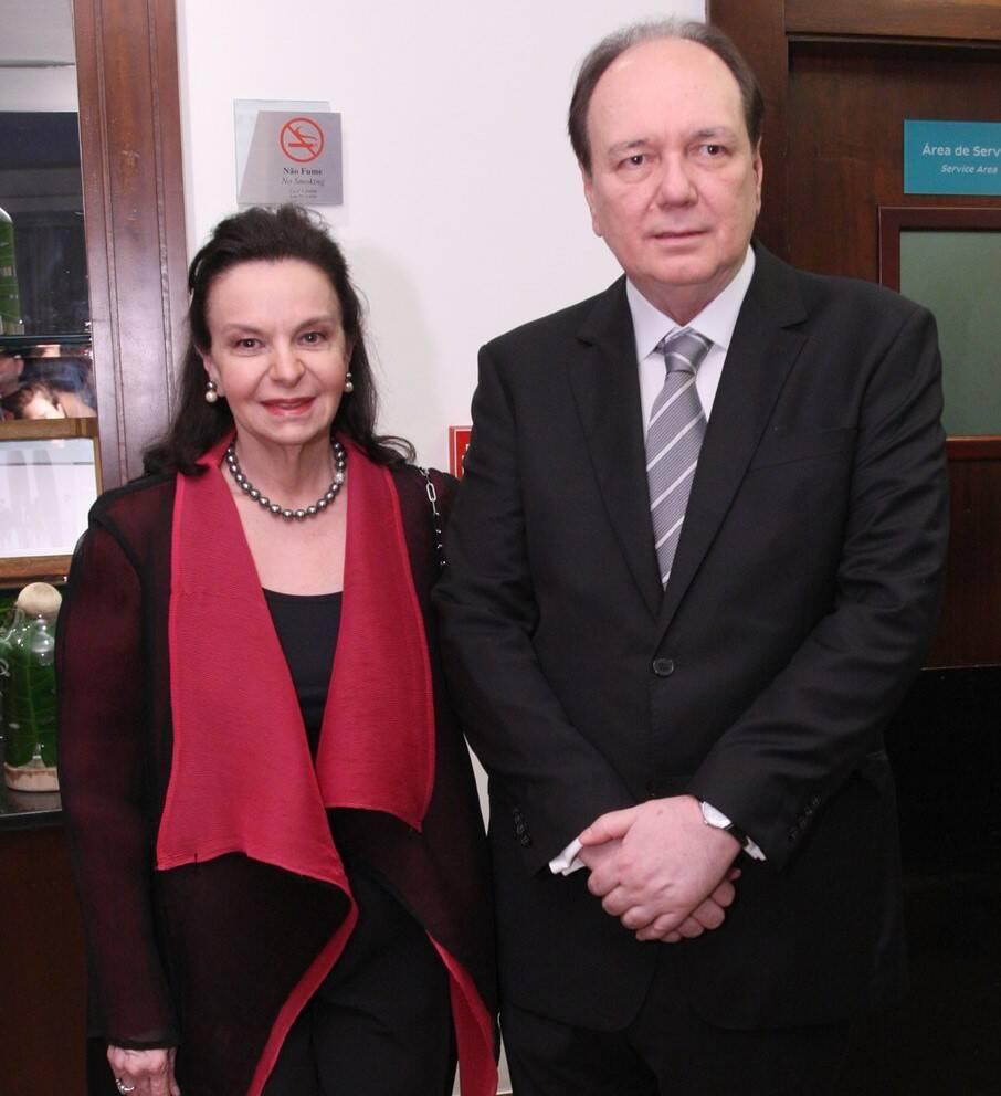 Mônica e Ricardo Faria  /Foto: Vera Donato