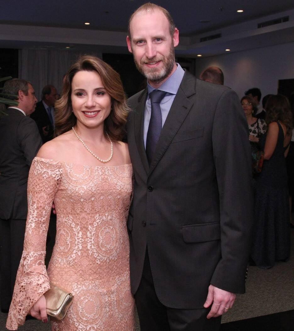 Patrícia Burridge e Nick Burridge  /Foto: Vera Donato