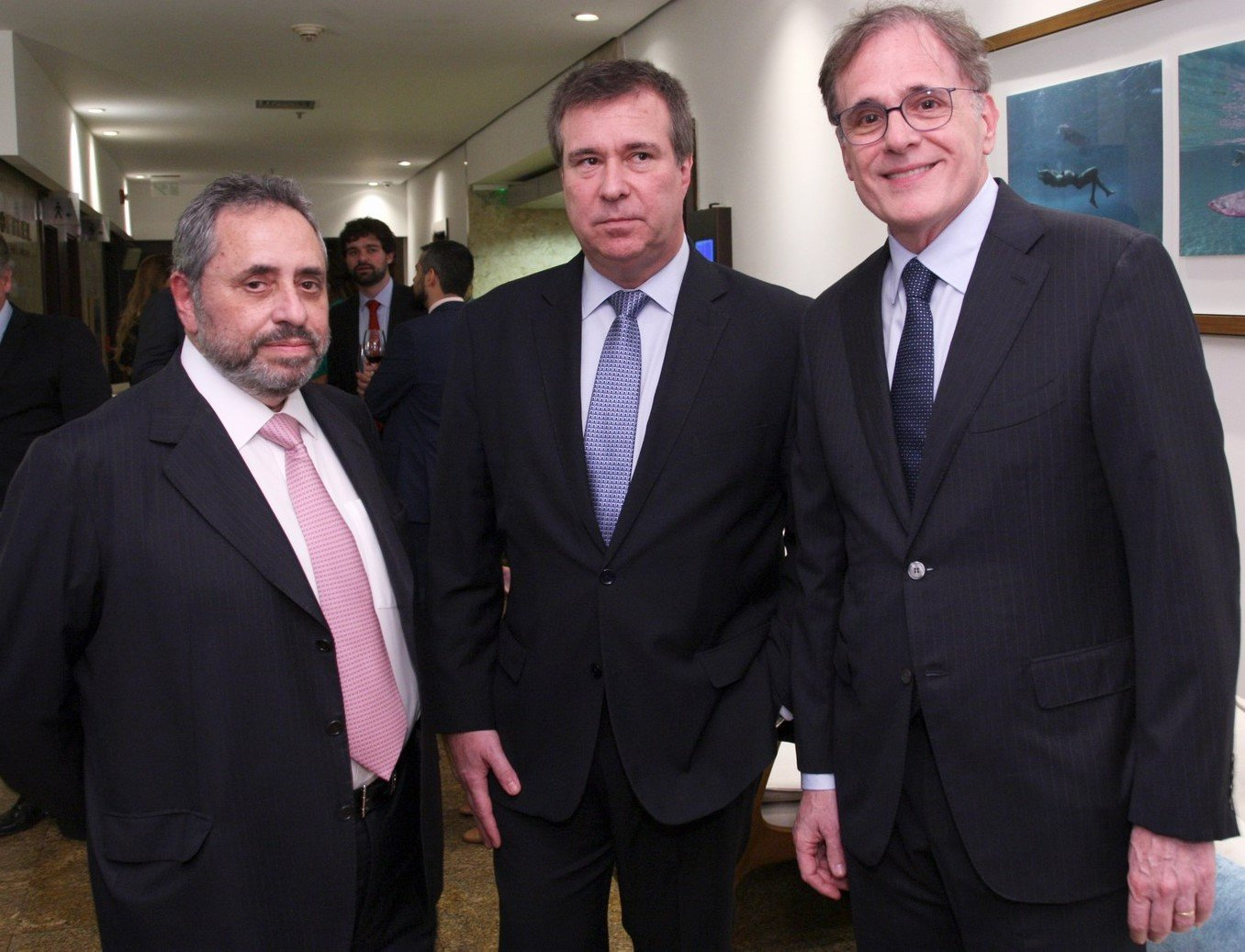 Boris Lerner, Gustavo Brigagão e Almir Ghiaroni  /Foto: Vera Donato