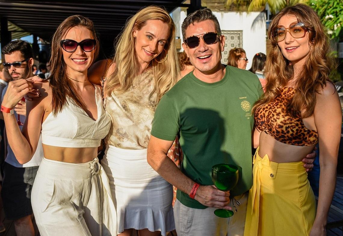 Aline Malafaia, Adrieane Piovessani, Marcelo Hicho e Deyse Krieger /Foto: Mariama Prieto