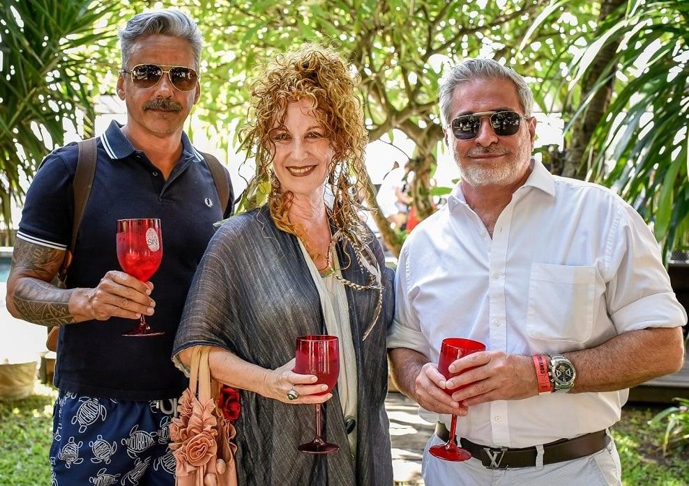 Almir Reis, Suzi Cantarino e Robert Campbell /Foto: Mariama Prieto