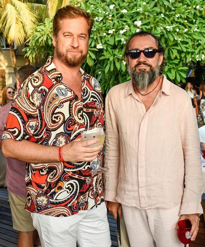 Beto Silva e Marcio Beckmann /Foto: Mariama Prieto