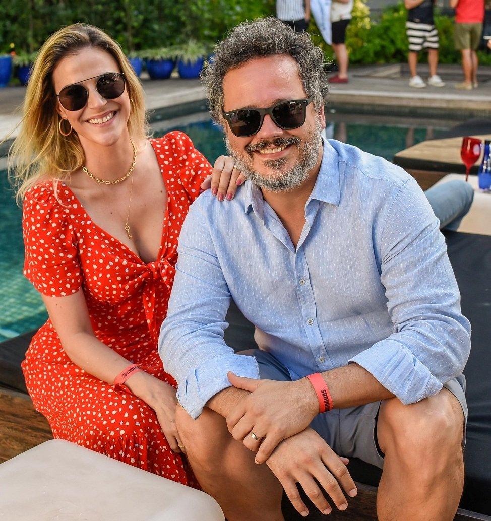 O casal Danton Mello e Sheila Ramos /Foto: Mariama Prieto