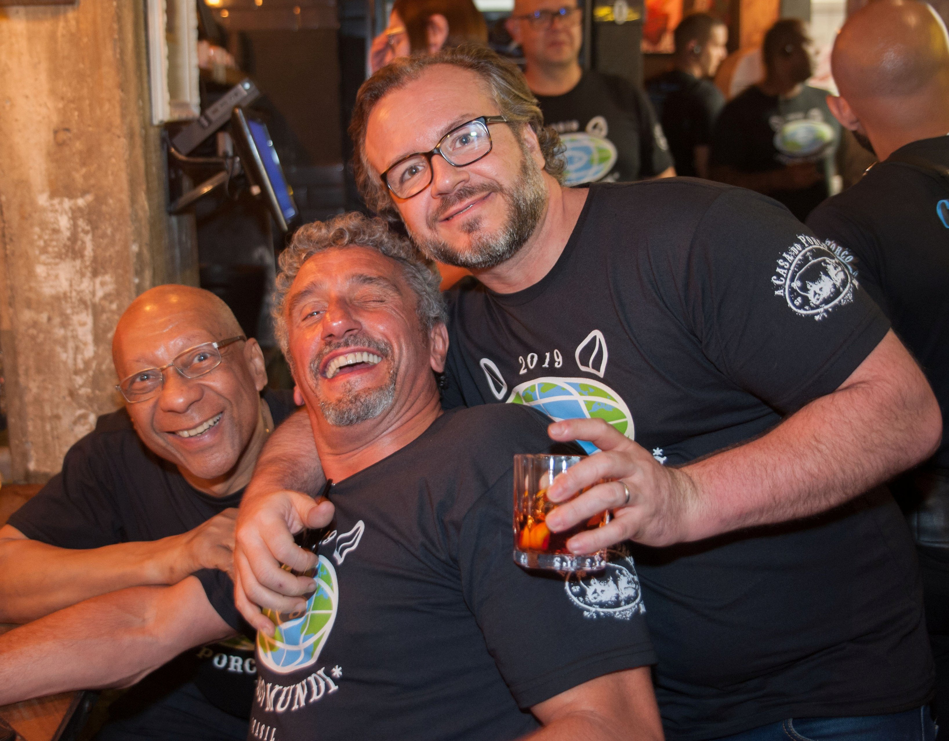 Jose Alencar, Emmanuel Bassoleil e Renato Carioni /Foto:  Rogério Gomes