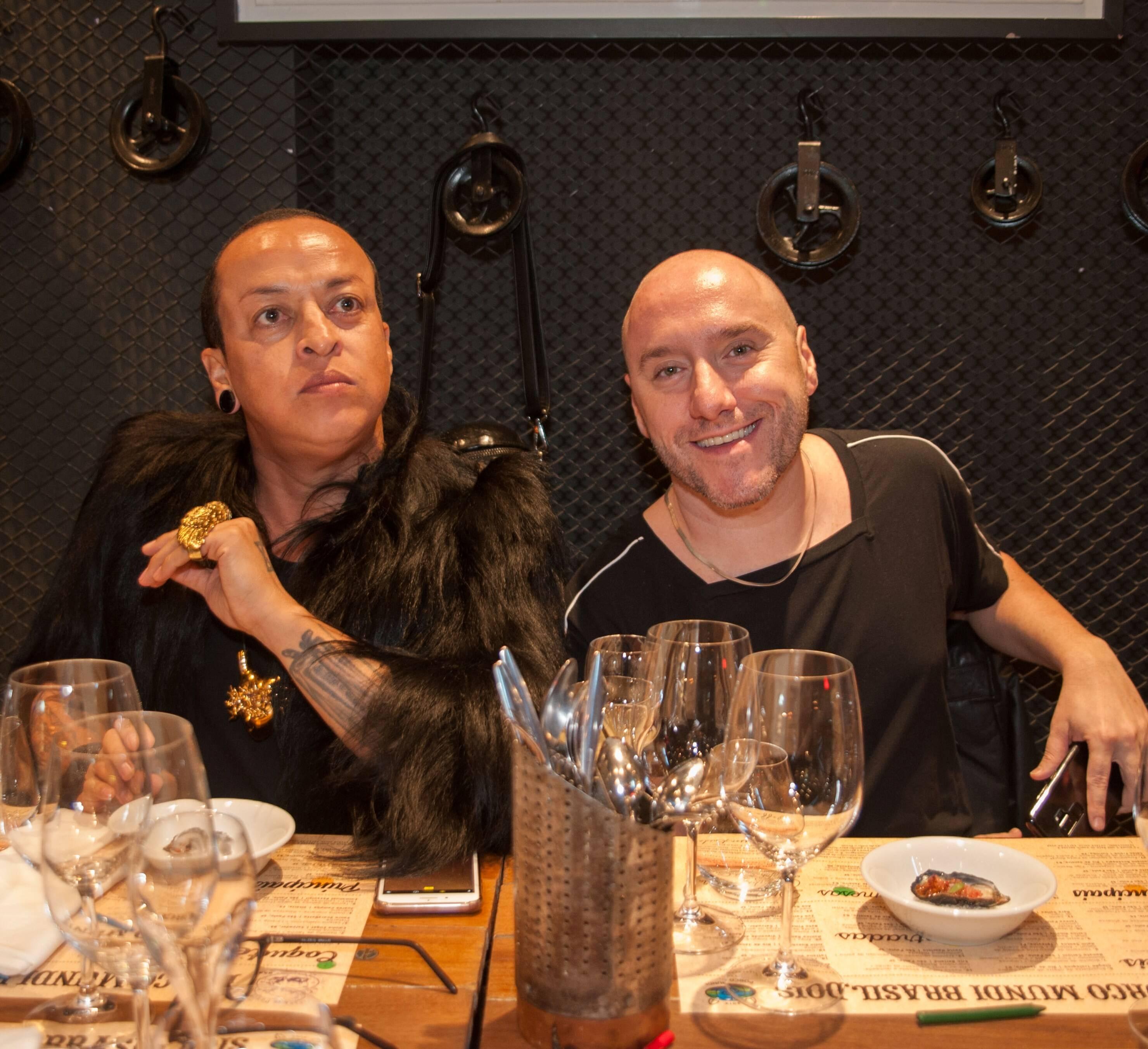 Walerio Araujo e Thiago Adorno /Foto:  Rogério Gomes