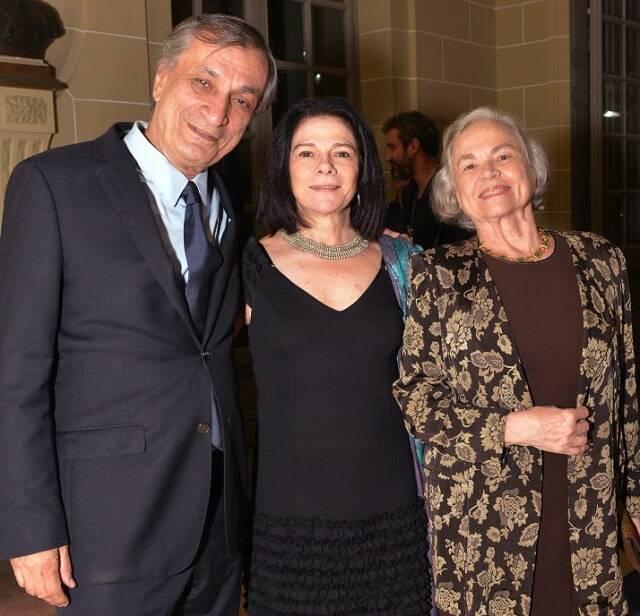 Antônio Cícero com Tessy e Ana Callado