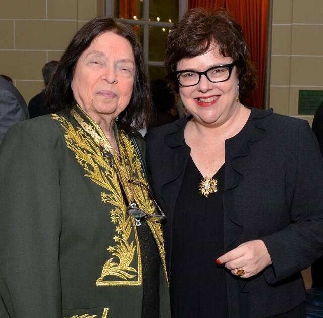 Nélida Piñon e Ana Cristina Reis