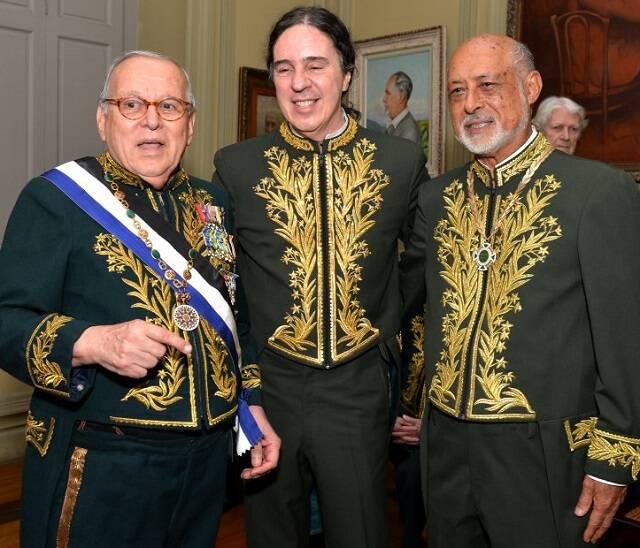 Marcos Vilaça, Geraldinho Carneiro e Domício Proença Filho