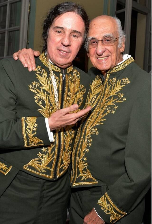 Geraldinho Carneiro e Zuenir Ventura