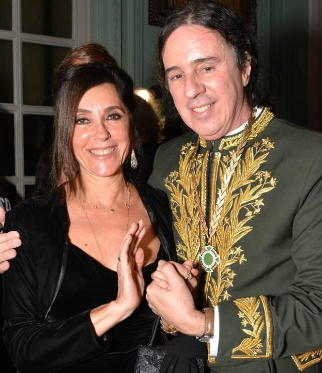 Christiane Torloni e Geraldinho Carneiro