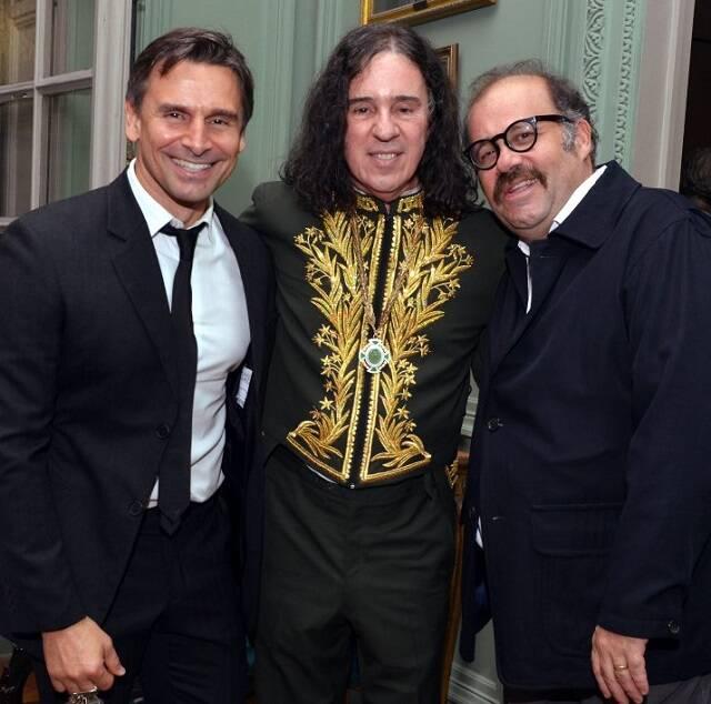 Murilo Rosa, Geraldinho Carneiro e Otávio Müller