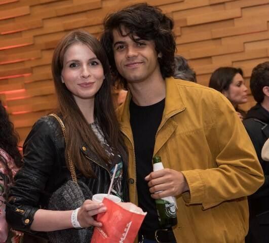 Giovana Gasparini e Gleeson Paulino