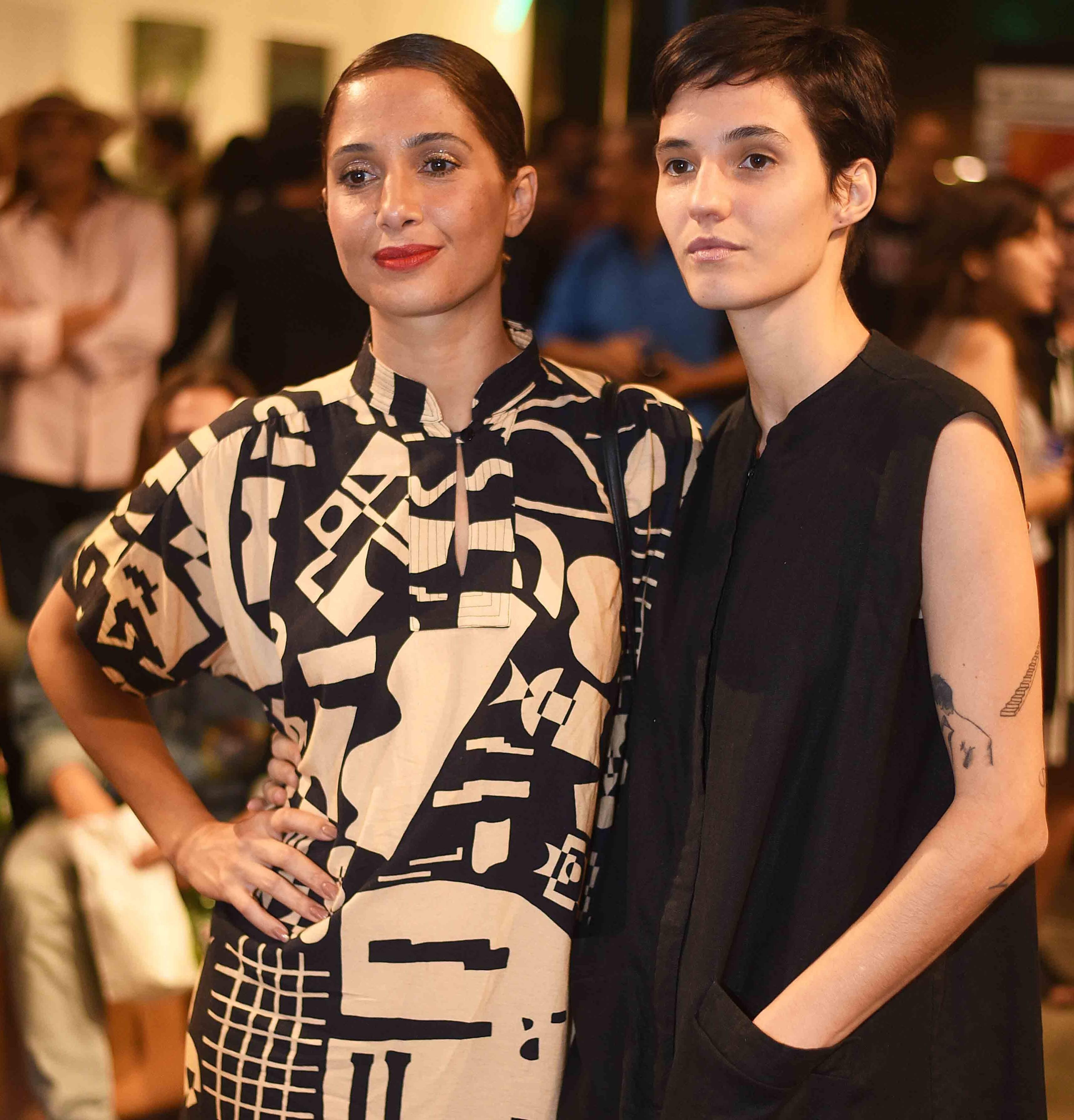 O casal Camila Pitanga e Beatriz Coelho /Foto: Ari Kaye