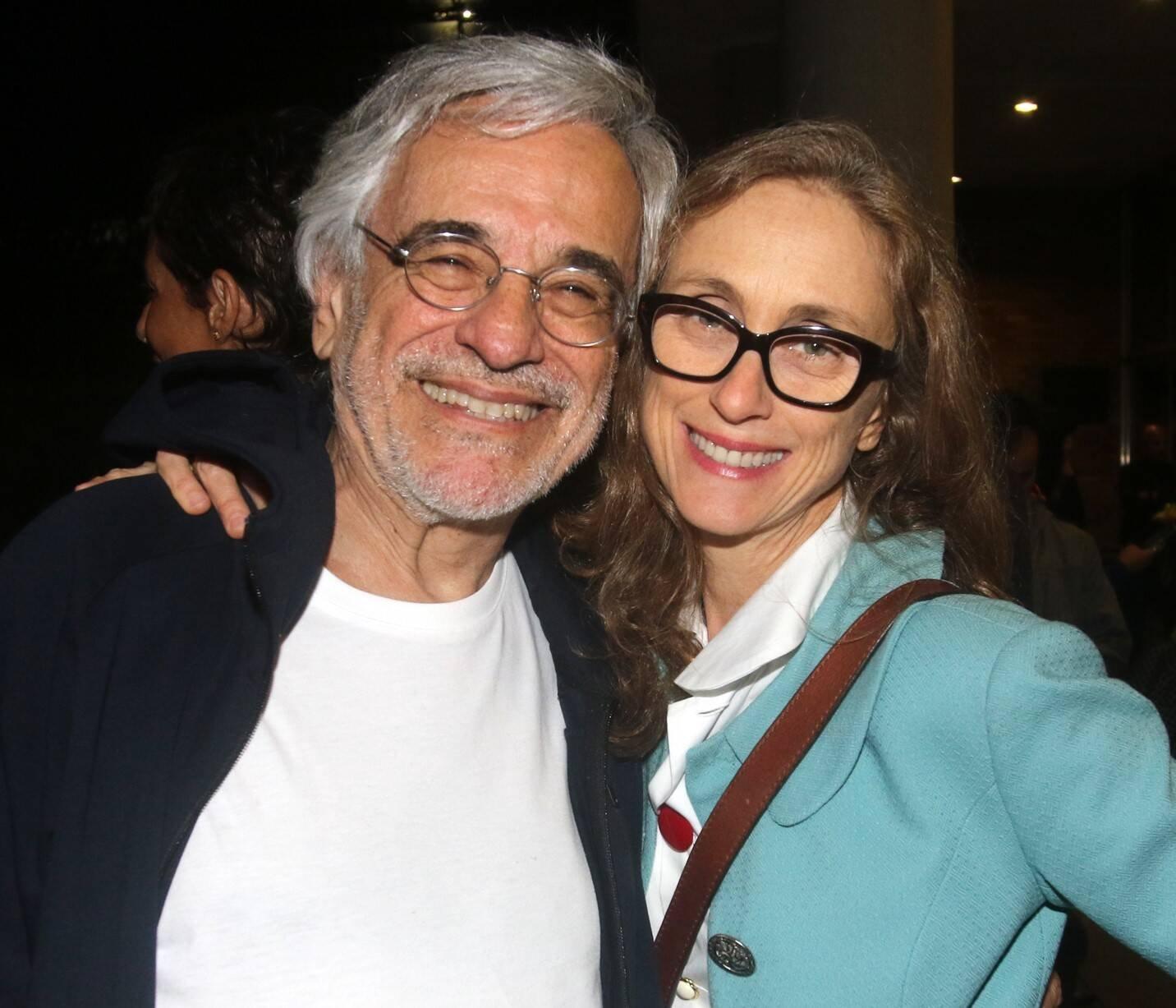 Aderbal Freire Filho e Betty Gofman /Foto: Eny Miranda/ Cia da Foto