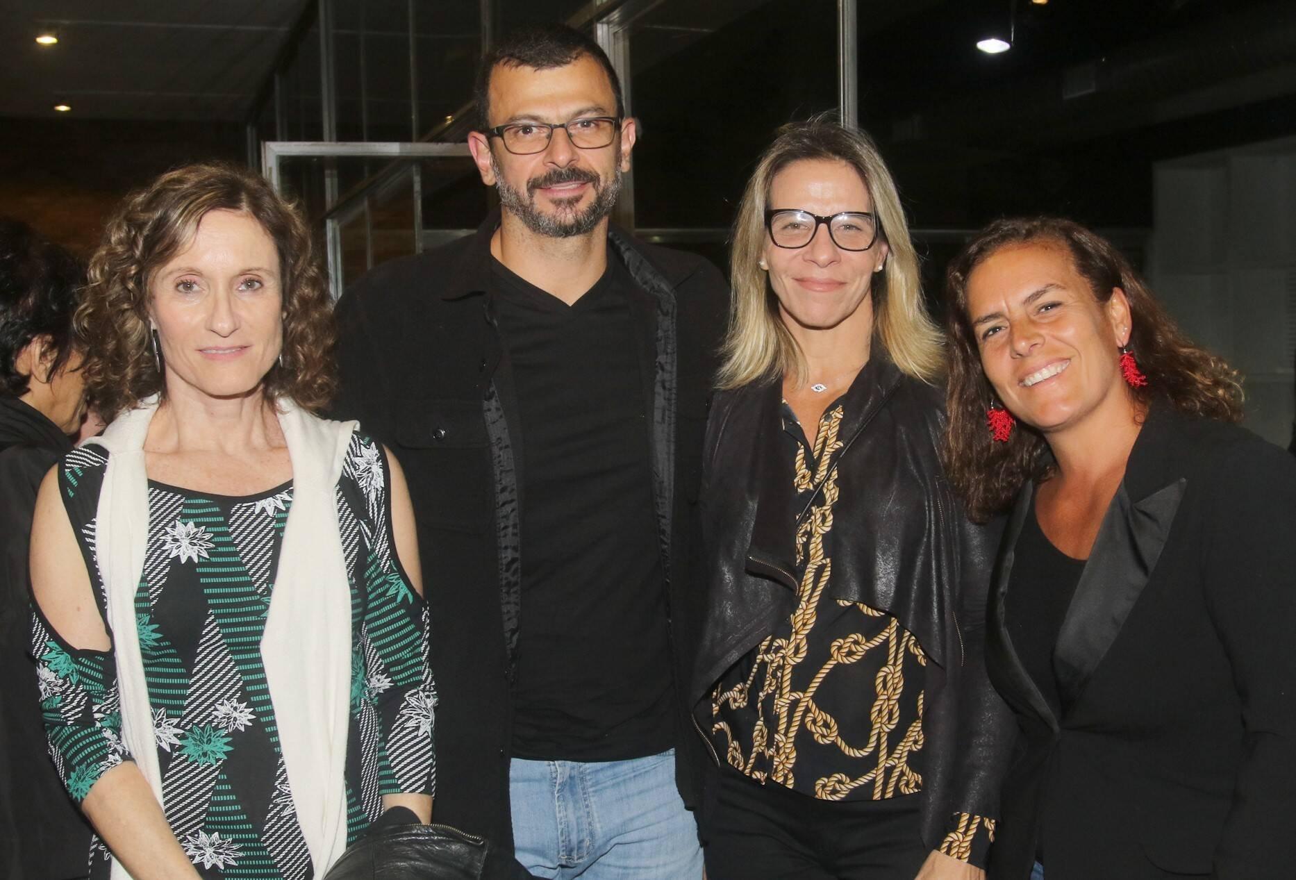 Thereza Jessouroun, Leonardo Edde e Paula Peltier  /Foto: Eny Miranda/ Cia da Foto