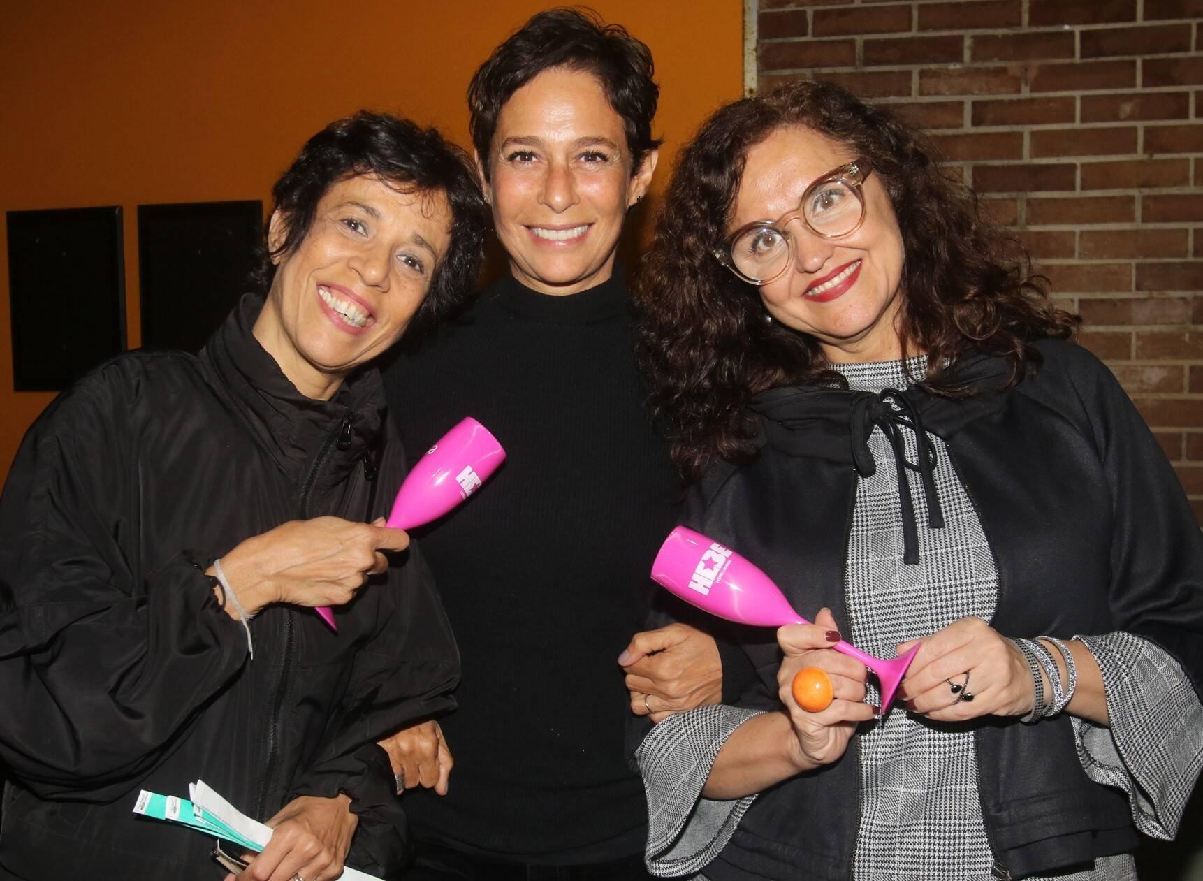 Vilma Lustosa, Andréa Beltrão e Ilda Santiago  /Foto: Eny Miranda/ Cia da Foto