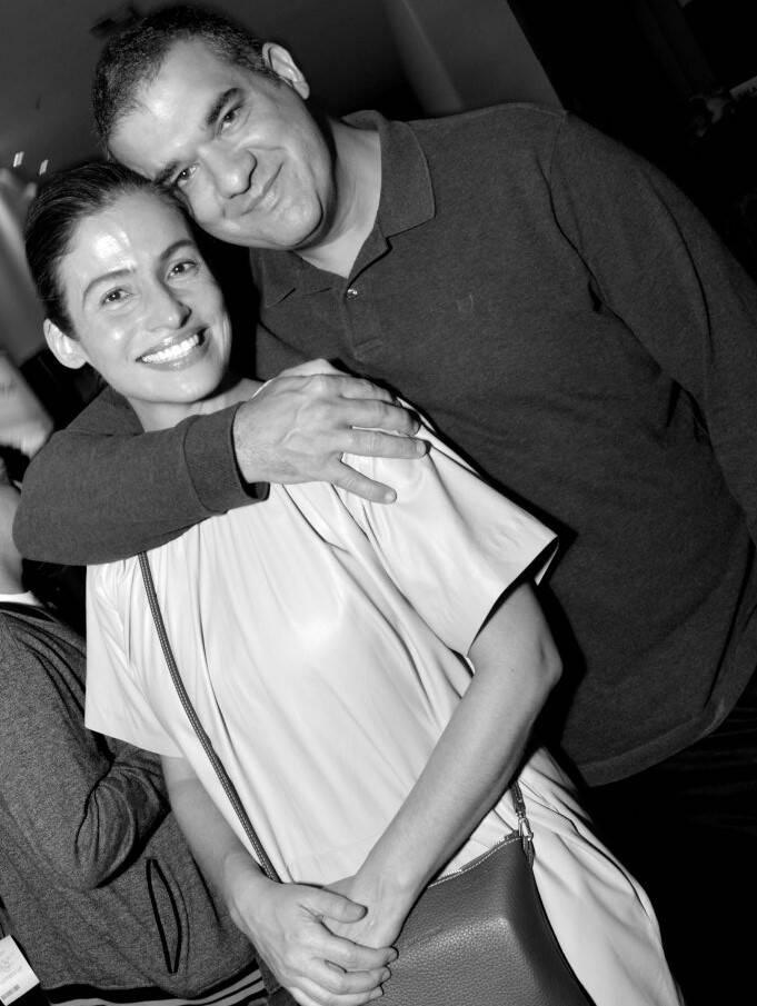 Renata Vasconcellos e  Miguel Athayde /Foto: Cristina Granato