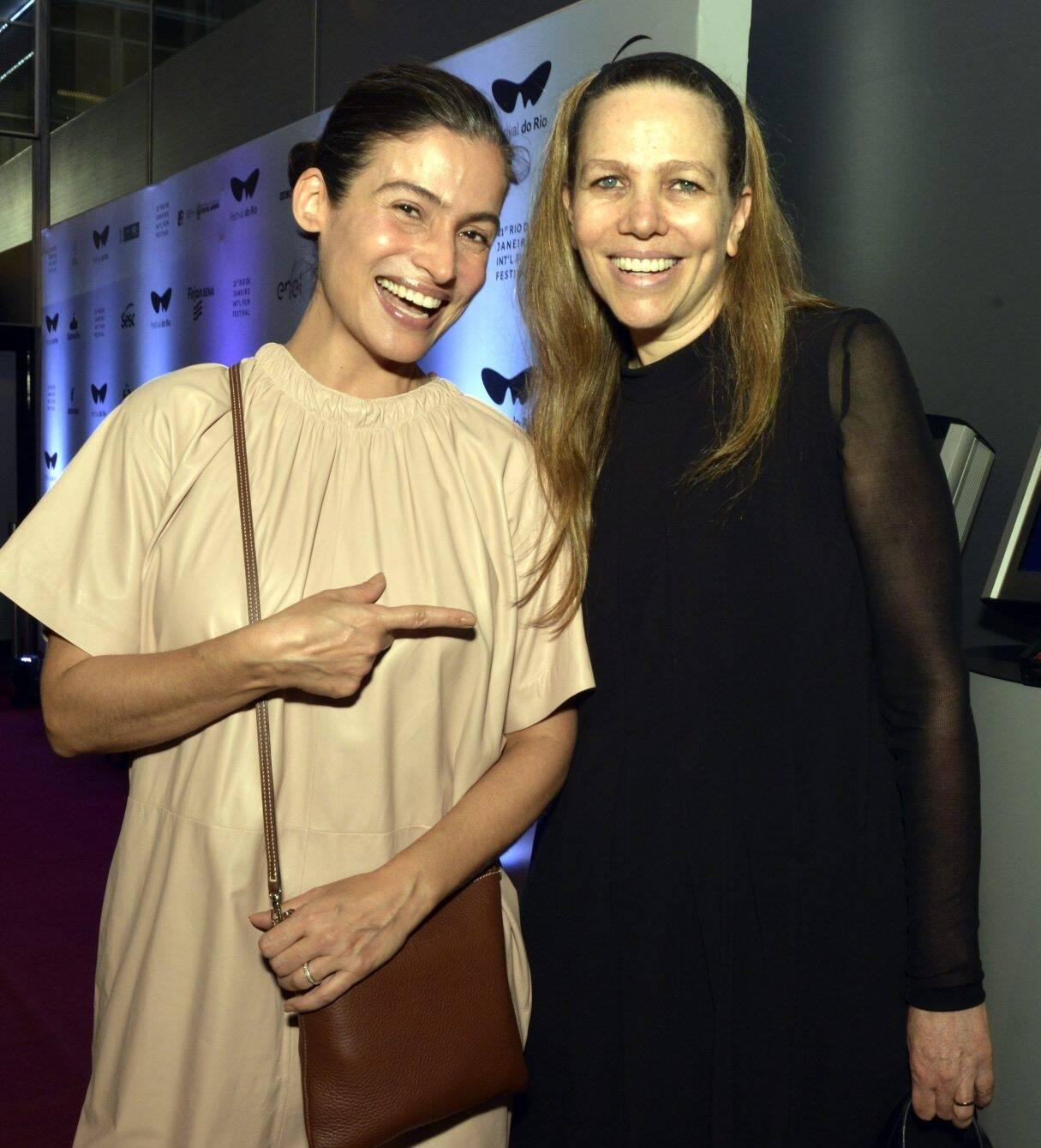 Renata Vasconcellos e Sandra Kogut /Foto: Cristina Granato