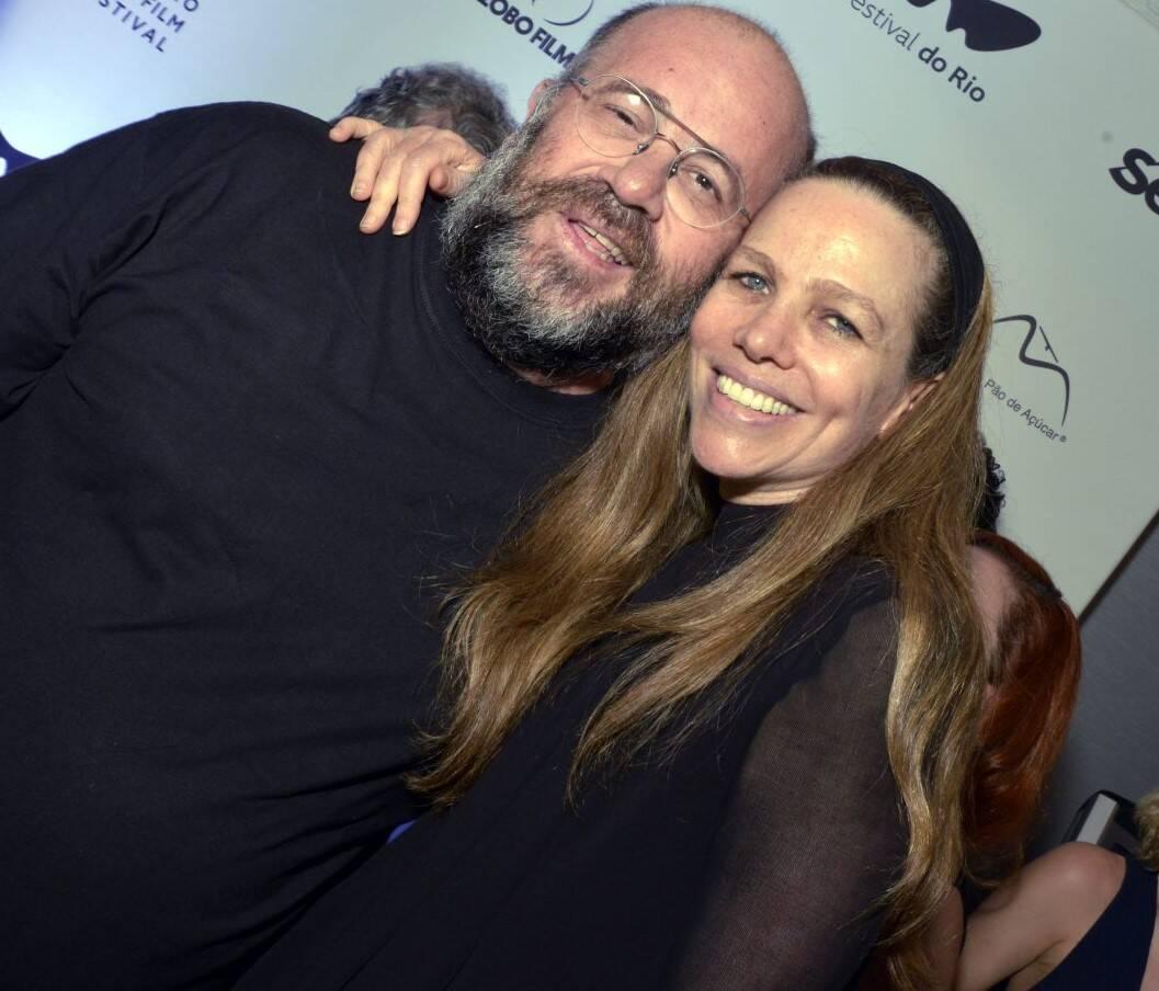 Otávio Muller e Sandra Kogut /Foto: Cristina Granato