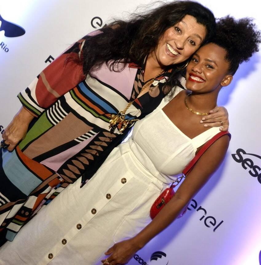 Regina Casé e  Jessica Ellen  /Foto: Cristina Granato