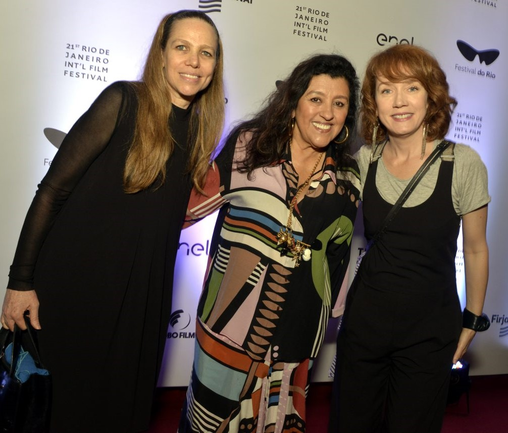 Sandra Kogut, Regina Casé e Camila Morgado /Foto: Cristina Granato