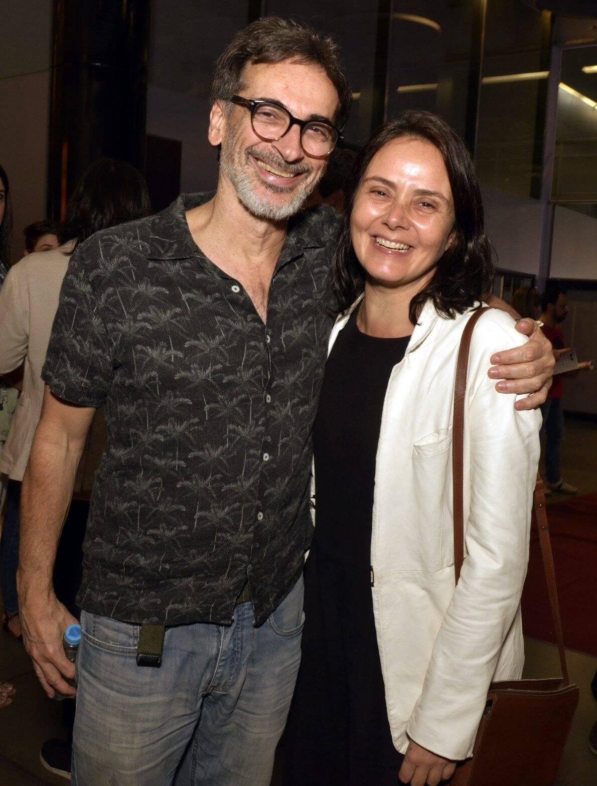 Luis Zerbini e Mini Kert /Foto: Cristina Granato