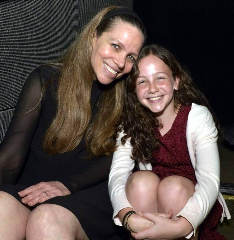 Sandra Kogut com a filha, Eva /Foto: Cristina Granato