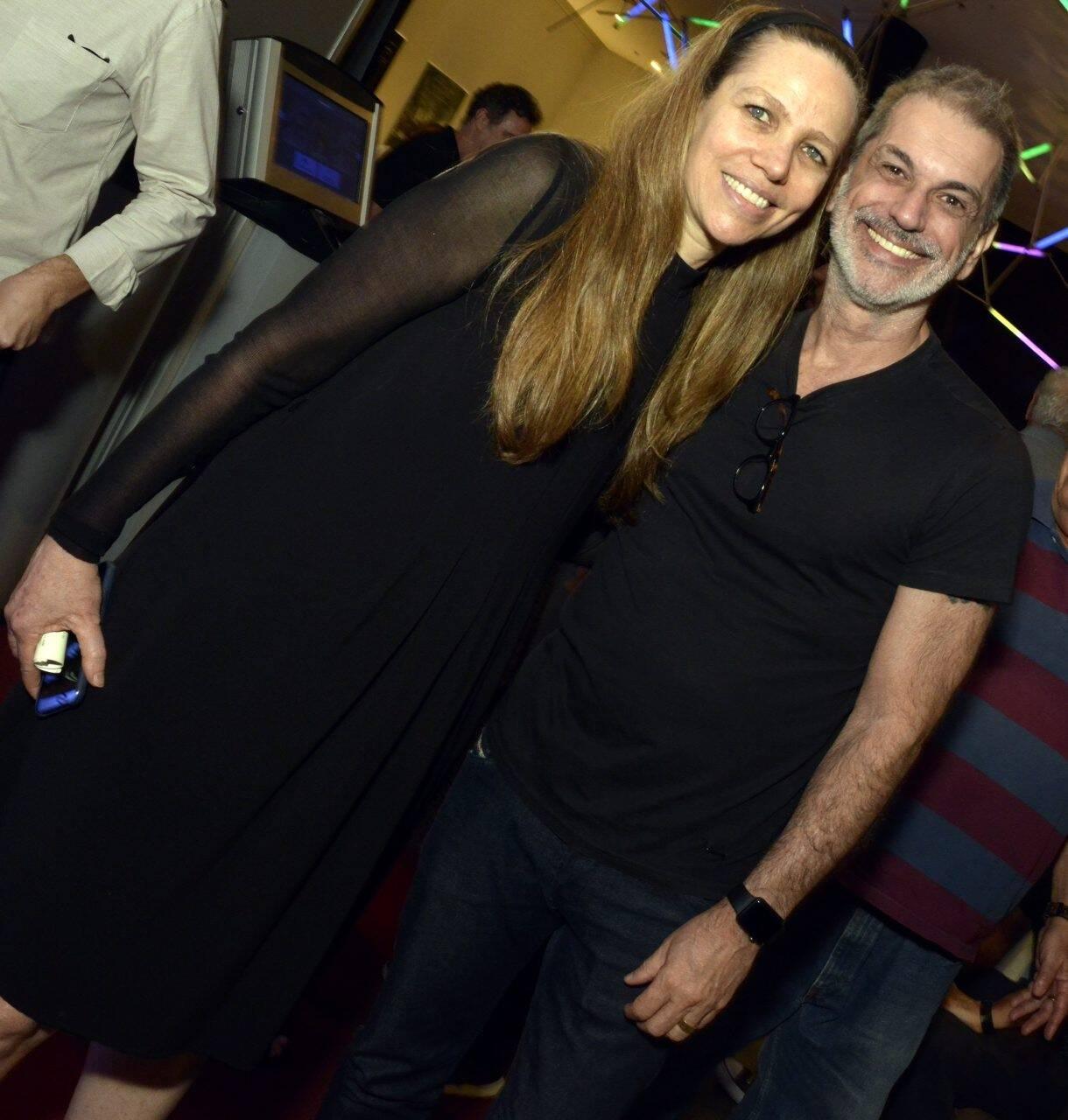 Sandra Kogut e  Mario Canivello /Foto: Cristina Granato