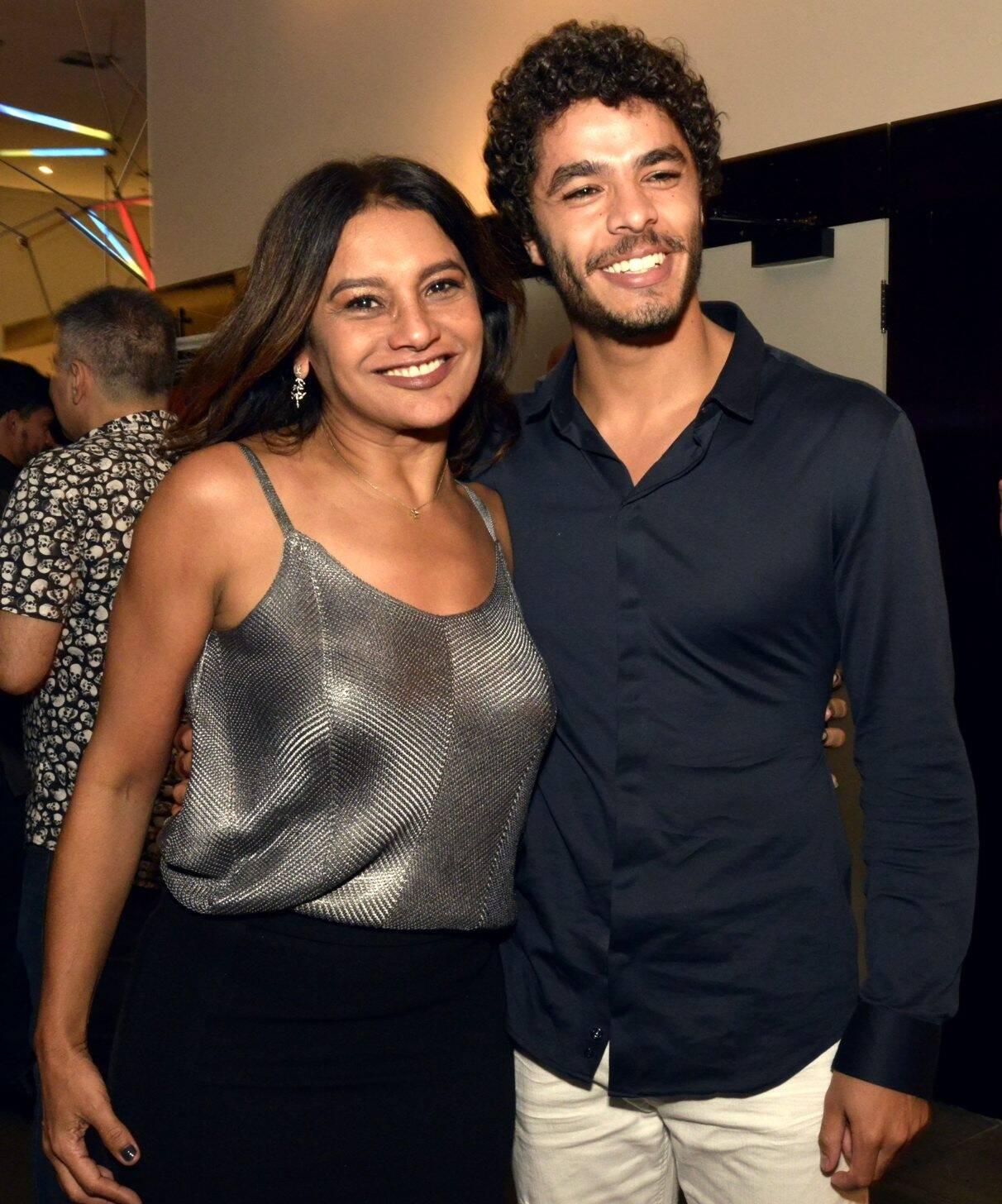 Dira Paes e Matheus Abreu  /Foto: Cristina Granato