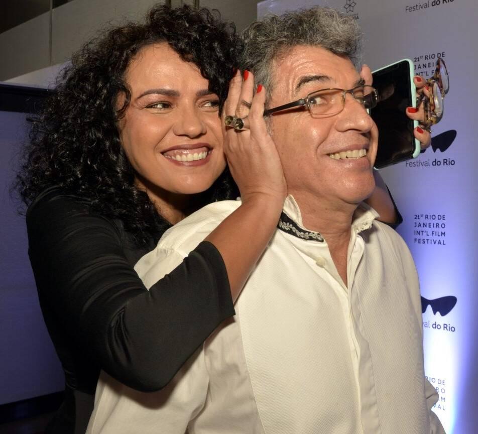 O casal Dadá Coelho e Paulo Betti /Foto: Cristina Granato