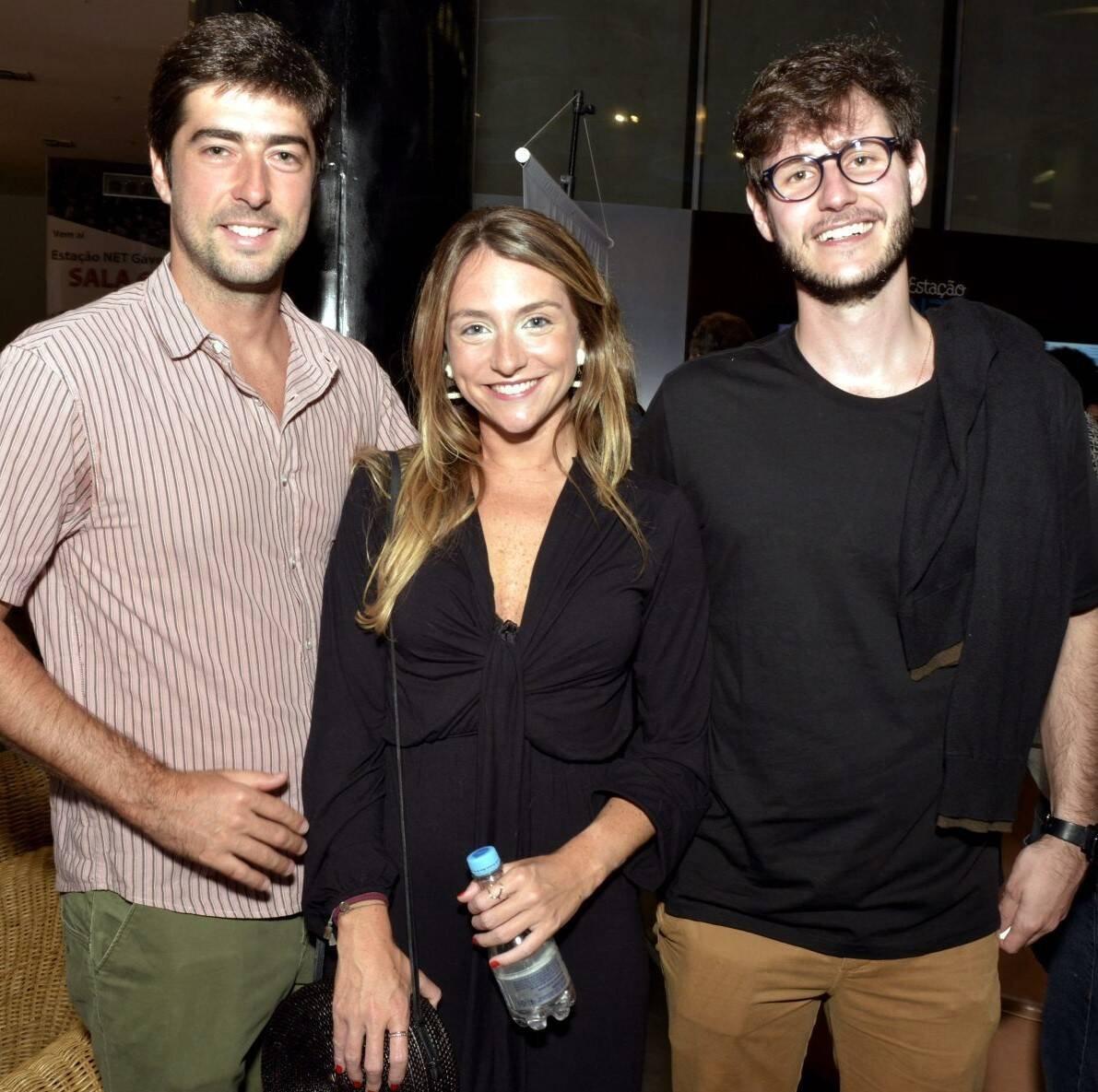Manoel Graga, Alice Kogut e Miguel Ribas /Foto: Cristina Granato
