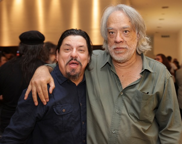 Maurício Barros e Fausto Fawcett
