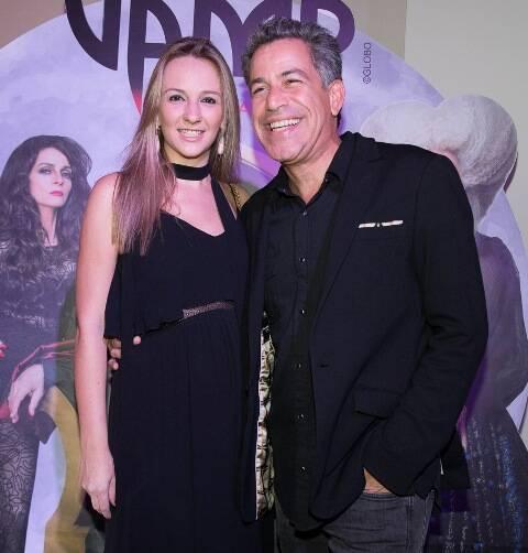 Luis Calainho e Larissa Gontijo