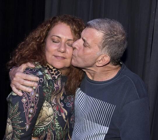 Patrycia Travassos e Jorge Fernando