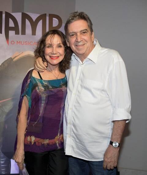 Silvia Massari e Guto Graça Mello