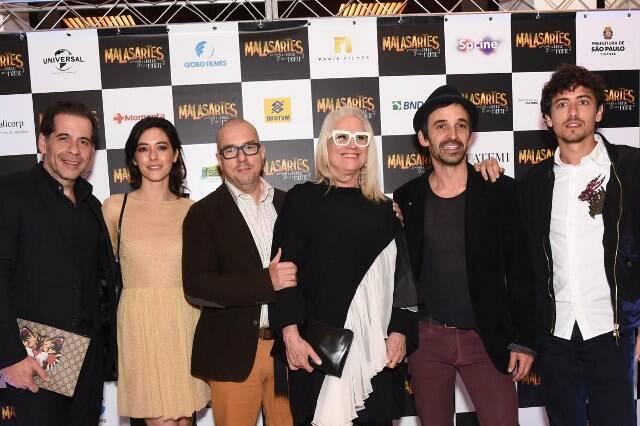 O elenco, Leandro Hassum, Julia Ianina, Augusto Madeira, Vera Holtz, Júlio Andrade e Jesuíta Barbosa