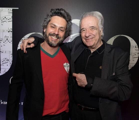 Alexandre Nero e João Carlos Martins