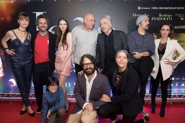 """O elenco do filme """"João, o Maestro"""""""