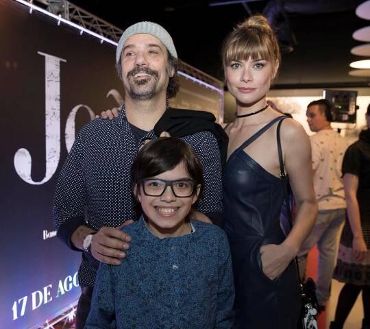 Mauro Lima, Davi Campolongo e Alinne Moraes