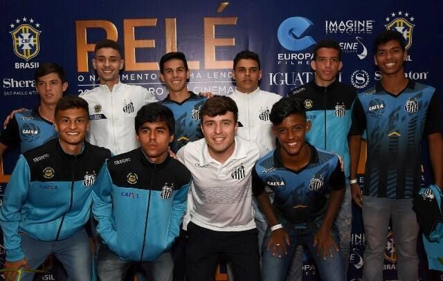 O time base do Santos