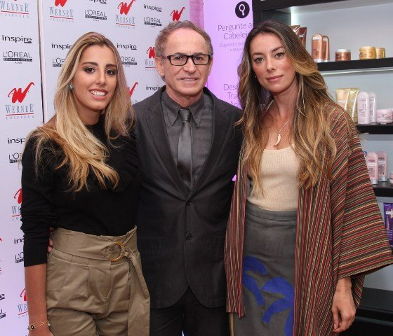 Fernanda Di Biasi, Rudi Werner e Fabíola Cabral