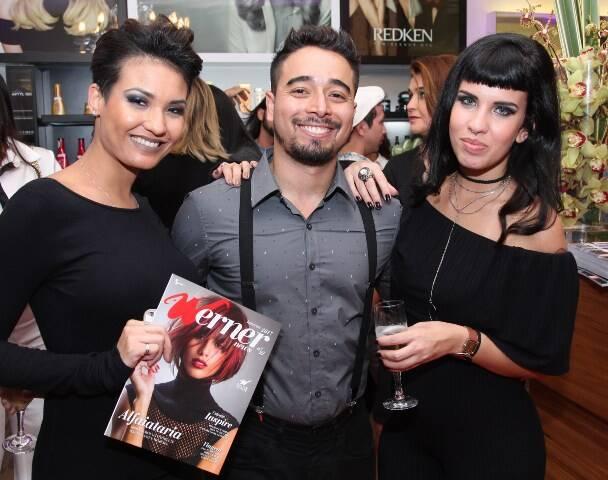 Kelen Duarte, Daniel Gama e Natalia Leite