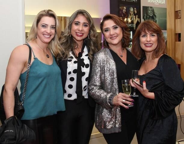 Tamara Jussten, Núbia Valote, Patricia Venturini e Adriana Araújo