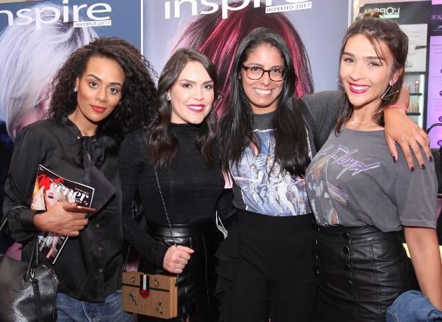 Monica Ambrósio, Lari Duarte, Nanda Nunes e Ana Luiza Valente