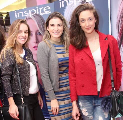 Ana Medrado, Thais Moura e Manoela Barcellos