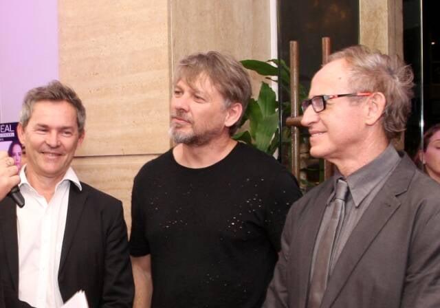 Os irmãos Lauri, Sergio e Rudi Werner