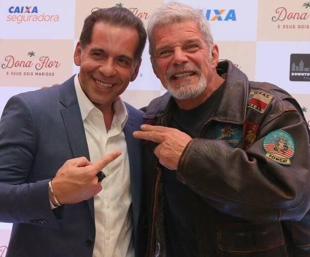 Leandro Hassum e Raul Gazolla